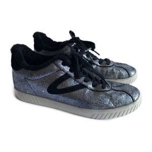 Tretorn Callie 4 Sneakers Metallic Silver Black 10
